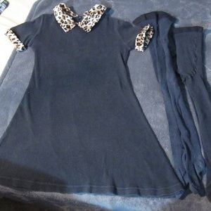 Other - size 6 dress and jacket and tights set